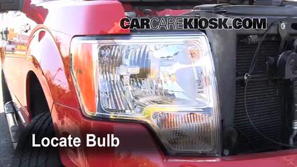 2009 Ford F-150 XLT 5.4L V8 FlexFuel Crew Cab Pickup (4 Door) Luces Luz de estacionamiento (reemplazar foco)