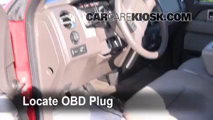 2009 Ford F-150 XLT 5.4L V8 FlexFuel Crew Cab Pickup (4 Door) Lumière « Check engine » du moteur