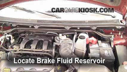 2009 Ford Flex SEL 3.5L V6 Brake Fluid