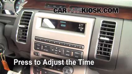 2009 Ford Flex SEL 3.5L V6 Horloge