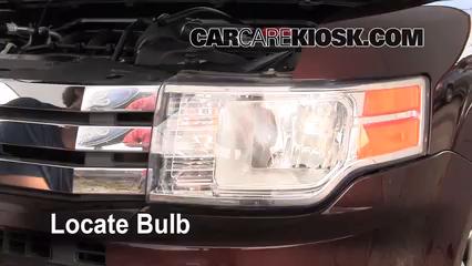 2009 Ford Flex SEL 3.5L V6 Luces Luz de estacionamiento (reemplazar foco)