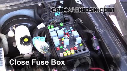 Replace a Fuse: 2002-2009 GMC Envoy - 2009 GMC Envoy SLE 4.2L 6 Cyl.CarCareKiosk