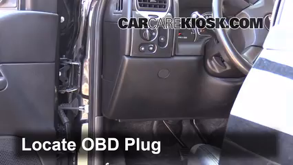2009 GMC Envoy SLE 4.2L 6 Cyl. Lumière « Check engine » du moteur