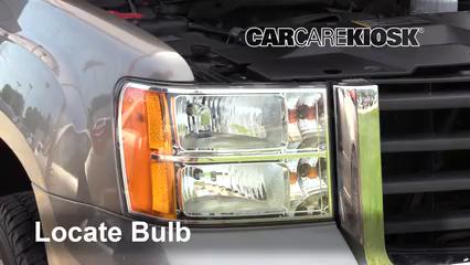 2009 GMC Sierra 2500 HD SLE 6.0L V8 Crew Cab Pickup (4 Door) Luces Luz de estacionamiento (reemplazar foco)