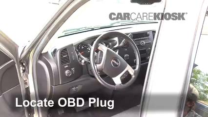 2009 GMC Sierra 2500 HD SLE 6.0L V8 Crew Cab Pickup (4 Door) Compruebe la luz del motor Diagnosticar