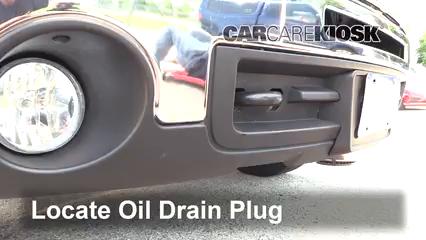 2009 GMC Sierra 2500 HD SLE 6.0L V8 Crew Cab Pickup (4 Door) Aceite Cambiar aceite y filtro de aceite