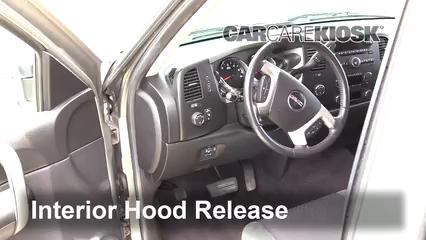 2009 GMC Sierra 2500 HD SLE 6.0L V8 Crew Cab Pickup (4 Door) Capó