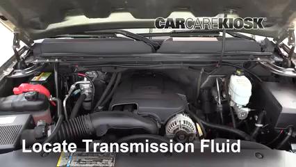 2009 GMC Sierra 2500 HD SLE 6.0L V8 Crew Cab Pickup (4 Door) Líquido de transmisión