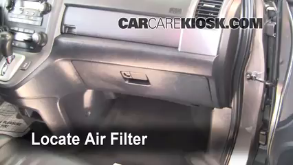 2009 Honda CR-V EX-L 2.4L 4 Cyl. Air Filter (Cabin) Check