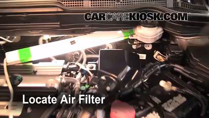 2009 Honda CR-V EX-L 2.4L 4 Cyl. Filtre à air (moteur)