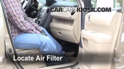 2009 Honda Pilot Touring 3.5L V6 Filtre à air (intérieur)