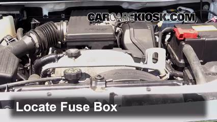 2009 Hummer H3 3.7L 5 Cyl. Fusible (motor) Cambio