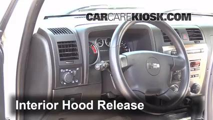 2009 Hummer H3 3.7L 5 Cyl. Capot