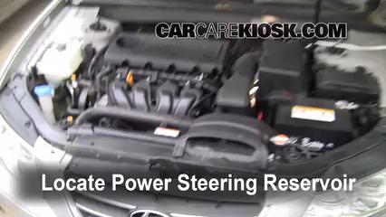 2009 Hyundai Sonata GLS 2.4L 4 Cyl. Power Steering Fluid