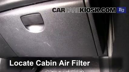 2009 Hyundai i20 Classic 1.2L 4 Cyl. Filtre à air (intérieur)