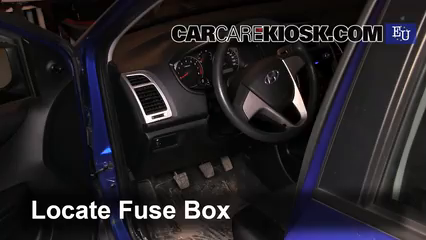 2009 Hyundai i20 Classic 1.2L 4 Cyl. Fusible (intérieur)