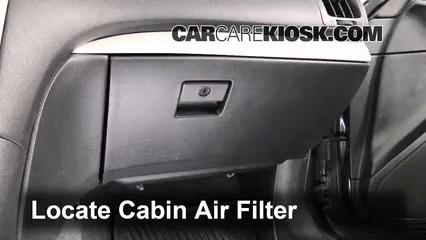 2009 Infiniti G37 X 3.7L V6 Sedan (4 Door) Filtre à air (intérieur)
