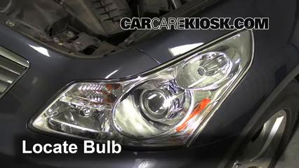 2009 Infiniti G37 X 3.7L V6 Sedan (4 Door) Luces Luz de niebla (reemplazar foco)