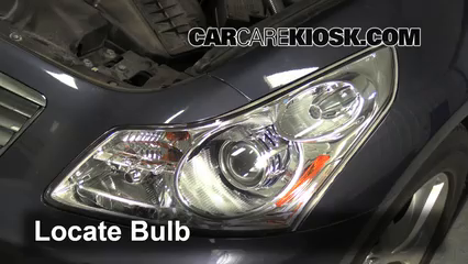 2009 Infiniti G37 X 3.7L V6 Sedan (4 Door) Lights Daytime Running Light (replace bulb)