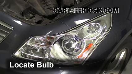 2009 Infiniti G37 X 3.7L V6 Sedan (4 Door) Luces Luz de estacionamiento (reemplazar foco)