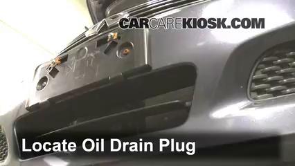 2009 Infiniti G37 X 3.7L V6 Sedan (4 Door) Oil Change Oil and Oil Filter