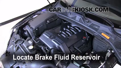 2009 Jaguar XF Luxury 4.2L V8 Brake Fluid