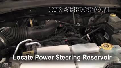 2009 Jeep Liberty Sport 3.7L V6 Líquido de dirección asistida Agregar líquido