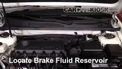 2009 Kia Optima EX 2.4L 4 Cyl. Brake Fluid