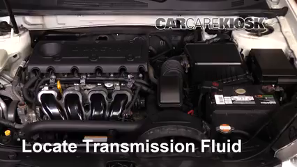 2009 Kia Optima EX 2.4L 4 Cyl. Transmission Fluid