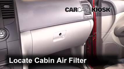 2009 Kia Sedona LX 3.8L V6 Air Filter (Cabin)