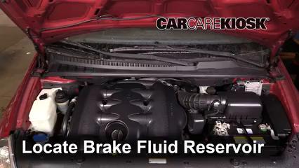 2009 Kia Sedona LX 3.8L V6 Brake Fluid