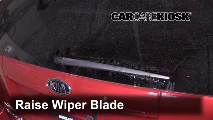 2009 Kia Sedona LX 3.8L V6 Windshield Wiper Blade (Rear)