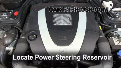 2009 Mercedes-Benz C300 Sport 3.0L V6 Pérdidas de líquido Líquido de dirección asistida (arreglar pérdidas)