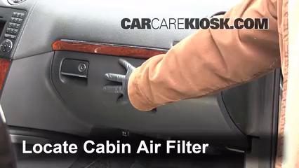 2009 Mercedes-Benz GL450 4.6L V8 Air Filter (Cabin)