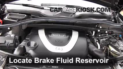 2009 Mercedes-Benz GL450 4.6L V8 Brake Fluid
