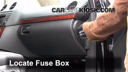 2009 Mercedes-Benz GL450 4.6L V8 Fuse (Interior)