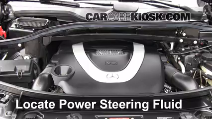 2009 Mercedes-Benz GL450 4.6L V8 Power Steering Fluid