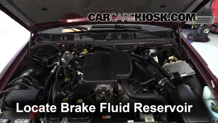2009 Mercury Grand Marquis LS 4.6L V8 FlexFuel Brake Fluid