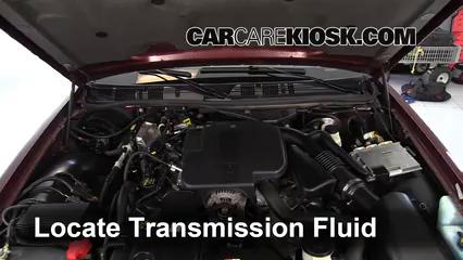 2009 Mercury Grand Marquis LS 4.6L V8 FlexFuel Transmission Fluid
