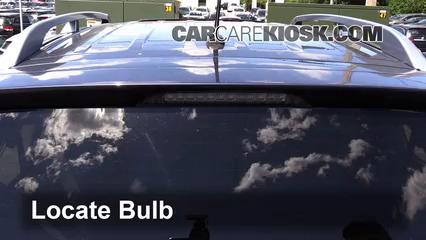2009 Mitsubishi Outlander XLS 3.0L V6 Lights Center Brake Light (replace bulb)