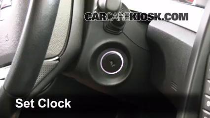 2009 Pontiac G8 GT 6.0L V8 Clock
