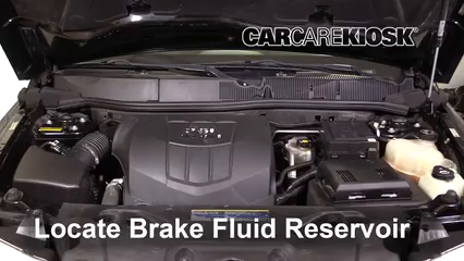 2009 Pontiac Torrent GXP 3.6L V6 Brake Fluid Add Fluid
