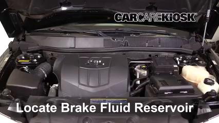 2009 Pontiac Torrent GXP 3.6L V6 Brake Fluid