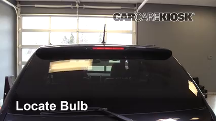 2009 Pontiac Torrent GXP 3.6L V6 Lights Center Brake Light (replace bulb)