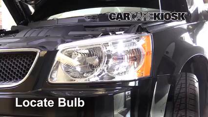 2009 Pontiac Torrent GXP 3.6L V6 Lights Parking Light (replace bulb)