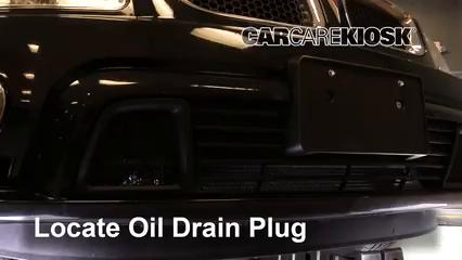 2009 Pontiac Torrent GXP 3.6L V6 Oil Change Oil and Oil Filter