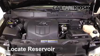 2009 Pontiac Torrent GXP 3.6L V6 Windshield Washer Fluid