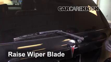 2009 Pontiac Torrent GXP 3.6L V6 Windshield Wiper Blade (Rear)