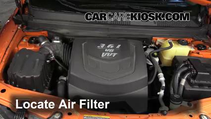 2009 Saturn Vue Red Line 3.6L V6 Air Filter (Engine)