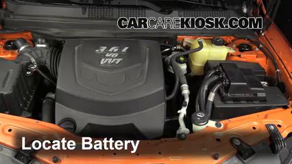 2009 Saturn Vue Red Line 3.6L V6 Battery Clean Battery & Terminals
